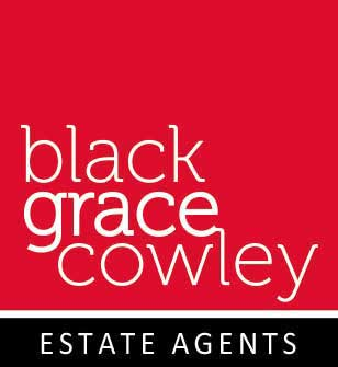 Black Grace Cowley logo